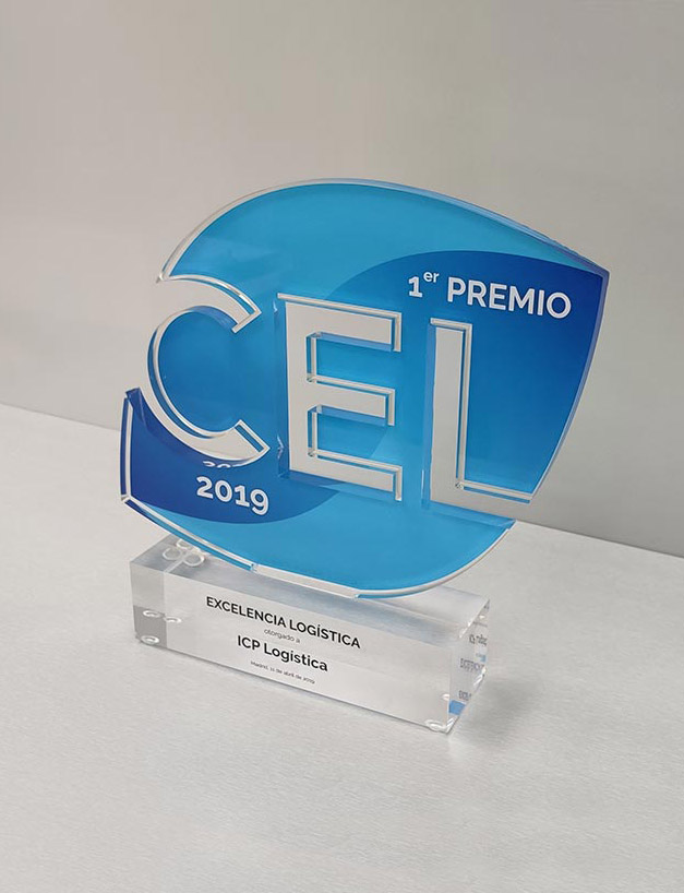 ICP obtains the award for logistics excellence granted by CEL